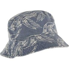 Cleethorpes Printed Reversible Bucket Hat