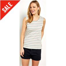 Women's Raja Stripe Vest Top