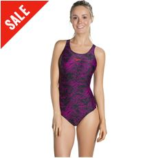 Boom Allover Muscleback Swimsuit