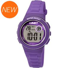 Kids' Silicone Strap Multifunction Watch