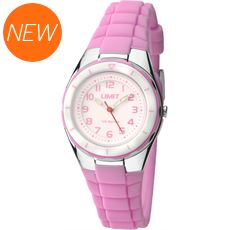 Kids' Silicone Strap Analogue Watch