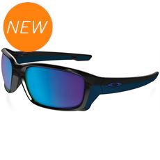 Straightlink Sunglasses (Sapphire/Iridium/Polished Black)