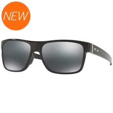 Crossrange Sunglasses (Polished Black/Black Iridium)