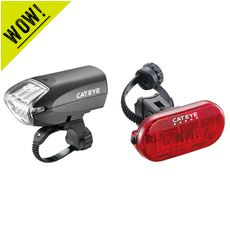 EL220 Headlight / LD155 Rear Light Set