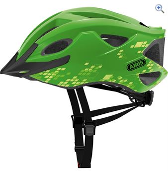 Abus S-Cension Helmet - Size: M-L - Colour: Green