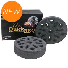 Ultra Quick BBQ Coconut Charcoal (5 Pieces)