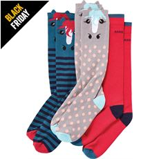 Junior Novelty Sock (3 Pack)