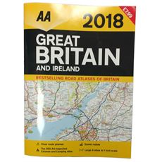 Great Britain and Ireland Road Atlas 2018