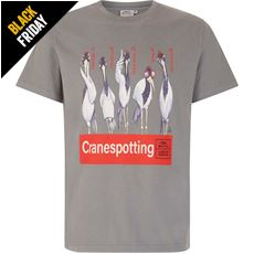 Men's 'Cranespotting' Artist T-Shirt
