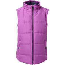Kids' Sira Stripe Lined Gilet