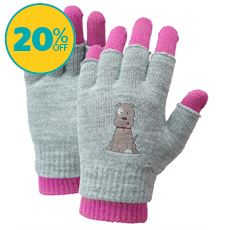 Kids' Patch Pup 2 in 1 Gloves