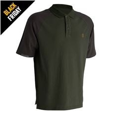 Trakker Earth Polo Shirt Med