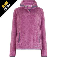 Women's Octavia Plush Fur Lined Pop Over Fleece