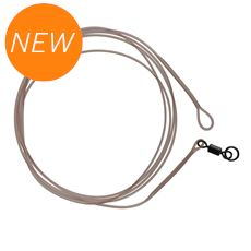 Mirage Loop Leader 100cm 35lbs Ring Swivel