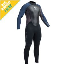 G Force 3MM Flatlock Steamer Men's Wetsuit