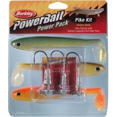 Powerbait Pike Hollow Belly Pro Pack