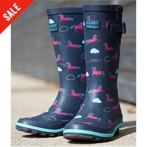 Hale Junior Wellington Boots