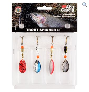 Abu Garcia Lure Asst Pack Trout Spinner
