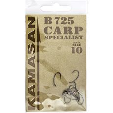 Carp Specialist Hook B725 Barbed Size 6 10pk