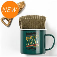Fishing Mug, Socks & Bottle Opener