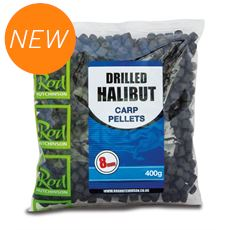 Drilled Halibut Carp Pellets 17mm