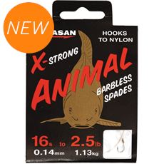 Animal Barbless Light HTN Size 12