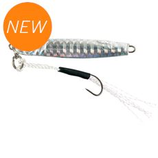 Micro Shore Jig 58mm 10g Silver