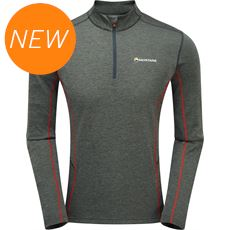Men's Dart Zip Neck