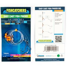 Easy Cast Fish Finder 3 UP 3 Hook Size 4