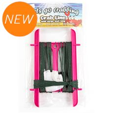 Crab Line Medium No Hooks Pack