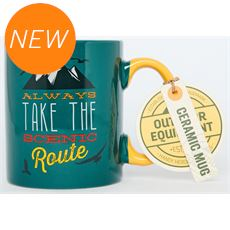 Always Take the Scenic Route Mug