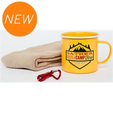 Camping Mug, Socks & Torch