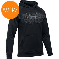 Men's Storm Armour® Fleece Wordmark Hoodie