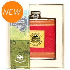 Wrapped Hip Flask (6oz)