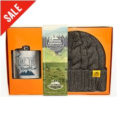 Beanie and Hip Flask Set