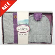 Bobble Hat and Scarf Set