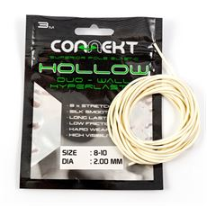 Connekt Hollow Pole Elastic White 8 10 3mt