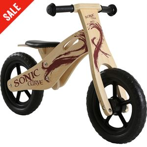 Curve Wooden Balance Bike
