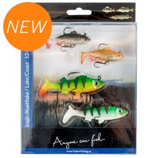 Set 4 Soft Lures 12 15g