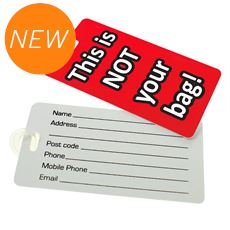 Novelty Luggage Tags Assorted