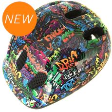 Kids' Spider Graffiti Helmet