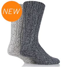 Women's Wool Rib Boot Socks