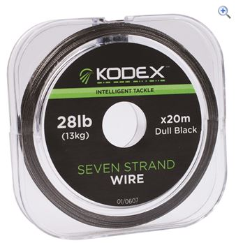 Kodex Black 7 Strand 28lb Wire