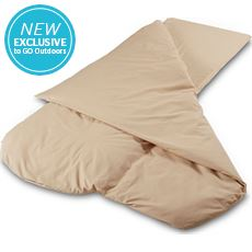 Compact Sleeping Bag (Cappuccino)