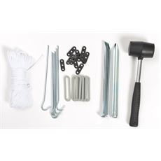 Deluxe 31 Piece Tent Accessory Kit