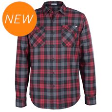 Men's Burner Flannel Button Up Shirt