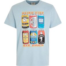 Men's '6 Pack Beer Cans' Artist T-Shirt