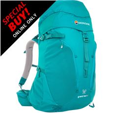 Women's Grand Tour 50 Backpack (S/M)