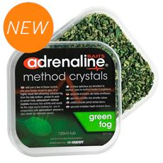 Adrenaline Crystals - Green Fog (125ml tub)
