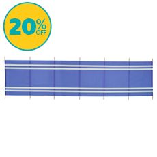 7-Pole Wooden Windbreak